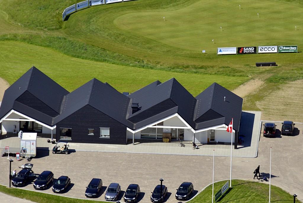 Golfbanen Kildebjerg Ry, golfklubhuset