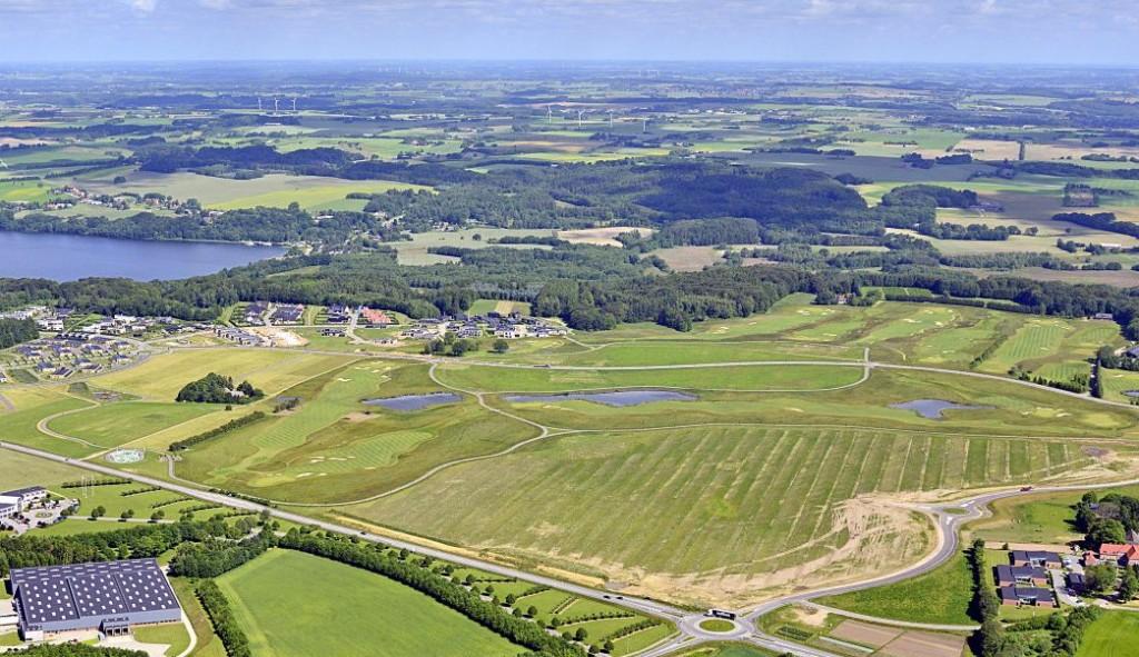 Luftfoto Østfasen juni 2015