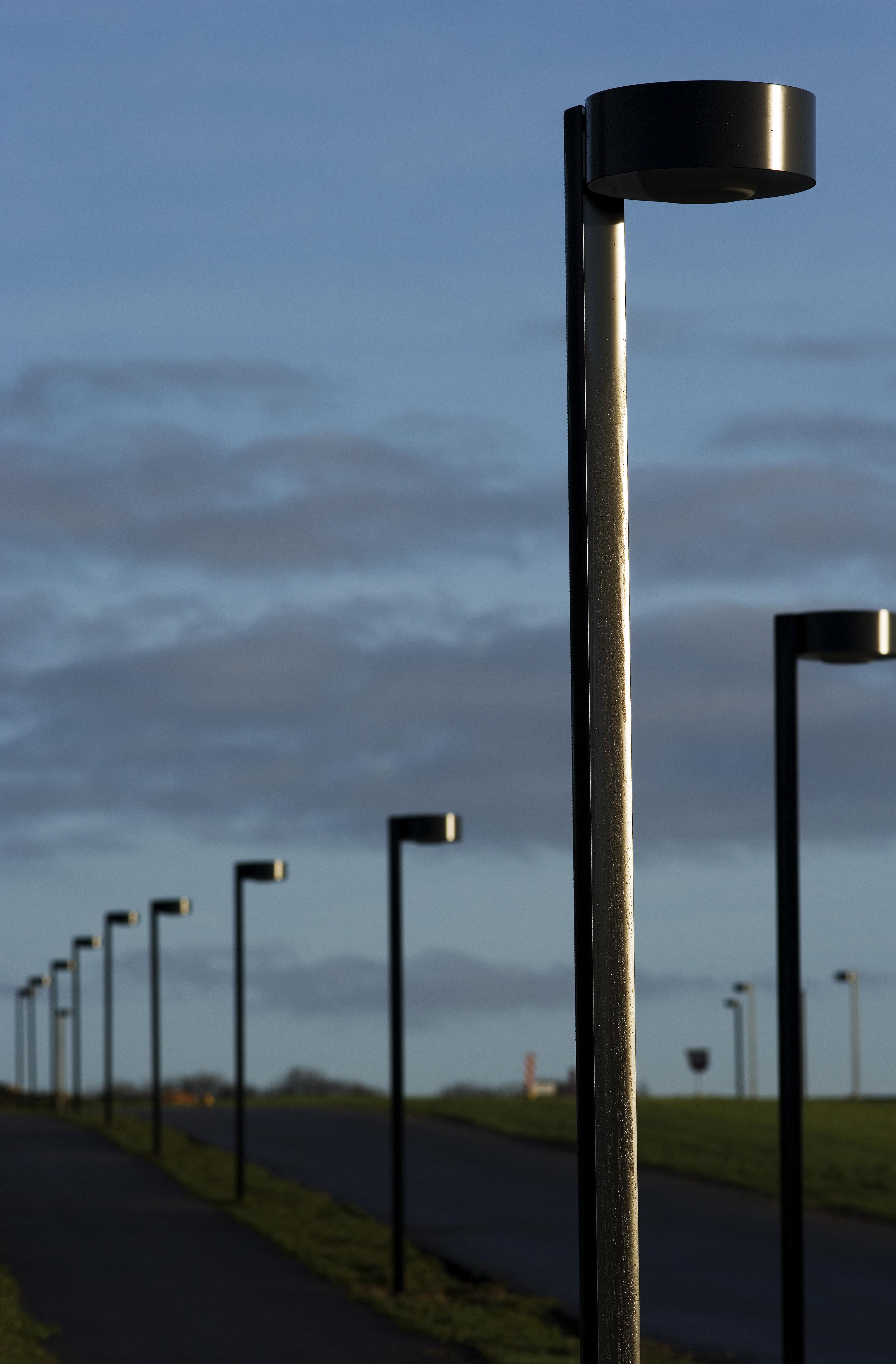 gadelamper til salg