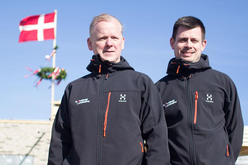 Rejsegilde i Sundhedshuset marts 2015, Steffen og Michael